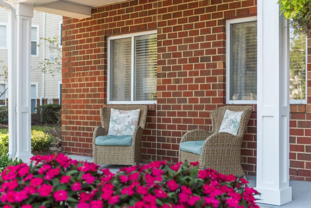 Comfortable Outdoor seating